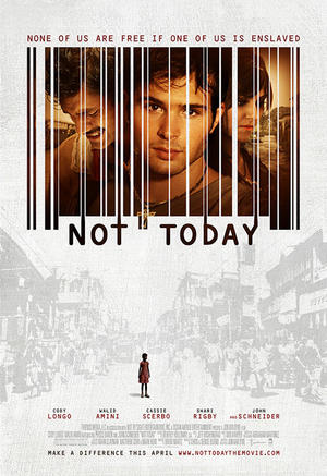 """Poster art for """"Not Today."""""""