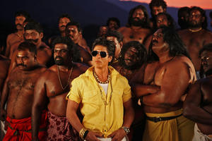 """Shah Rukh Khan in """"Chennai Express."""""""