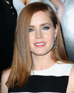"Amy Adams at the Los Angeles premiere of ""American Hustle."""