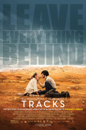 "Poster art for ""Tracks."""