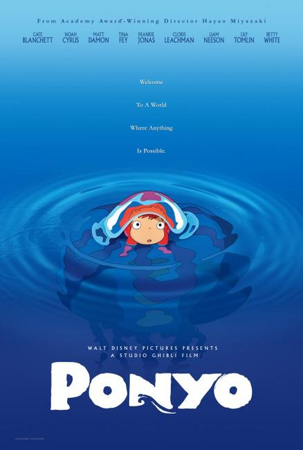Ponyo On A Cliff By The Sea Photos + Posters