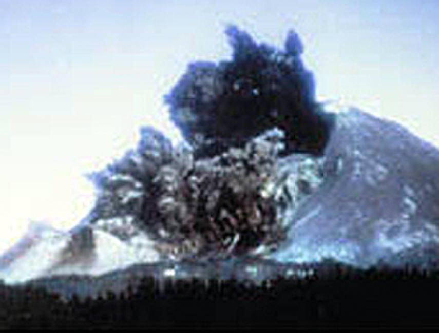 The Eruption of Mount St. Helens Photos + Posters