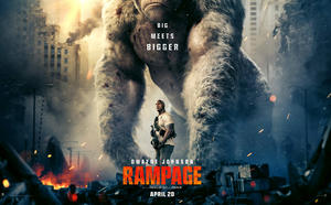 Watch Dwayne Johnson vs. Monsters in First 'Rampage' Trailer