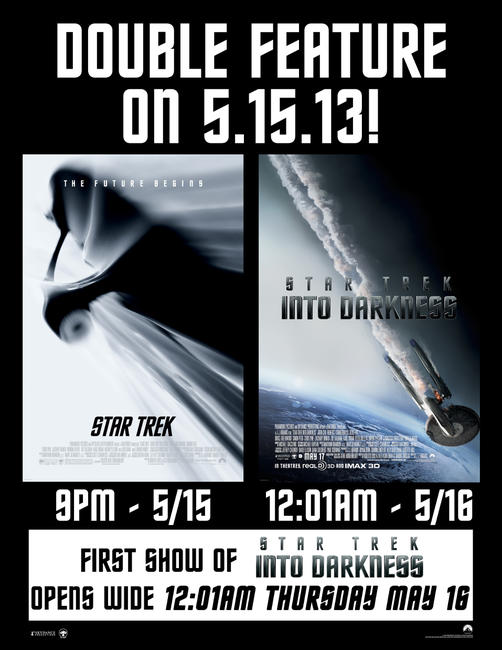 Star Trek Double Feature Photos + Posters