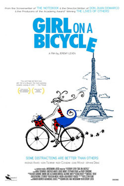 Girl on a Bicycle Photos + Posters