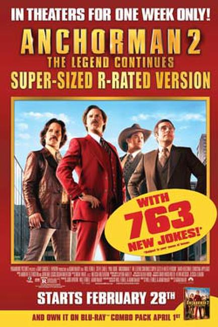 Anchorman 2: The Legend Continues Super-Sized R-rated Version Photos + Posters