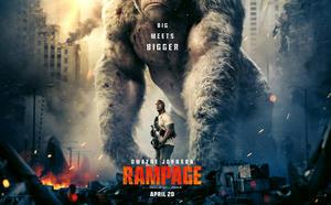 Watch Dwayne Johnson vs. Monsters in First 'Rampage' Trailer