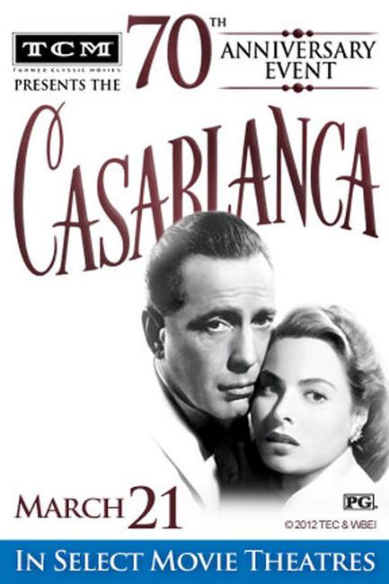 TCM Presents Casablanca 70th Anniversary Event Photos + Posters