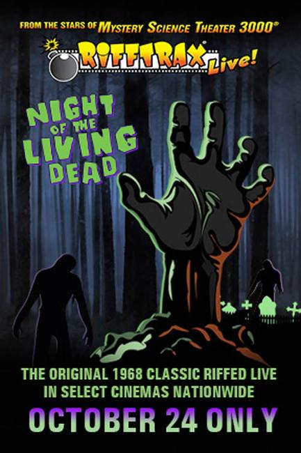 RiffTrax Live: Night of the Living Dead (2013) Photos + Posters