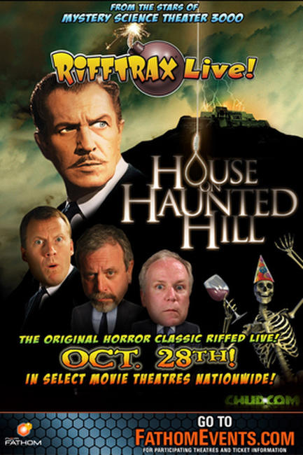 RiffTrax LIVE: House on Haunted Hill Photos + Posters