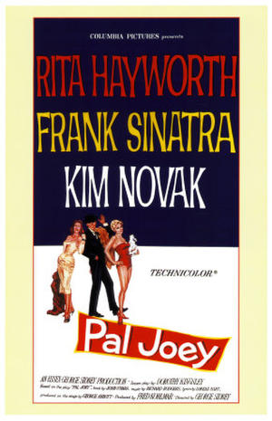 "Poster art for ""Pal Joey."""