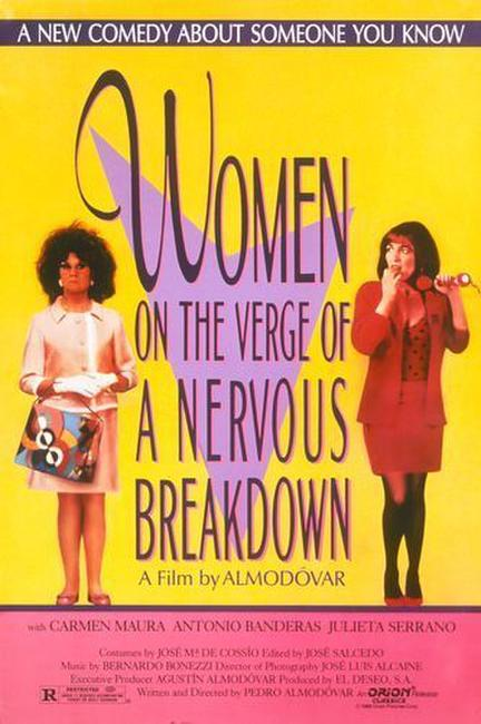 Women on the Verge of a Nervous Breakdown Photos + Posters