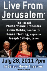 Renee Fleming Live with the Israel Philharmonic Orchestra showtimes and tickets