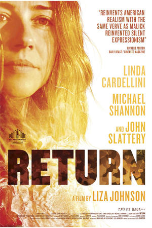 "Poster art for ""Return."""