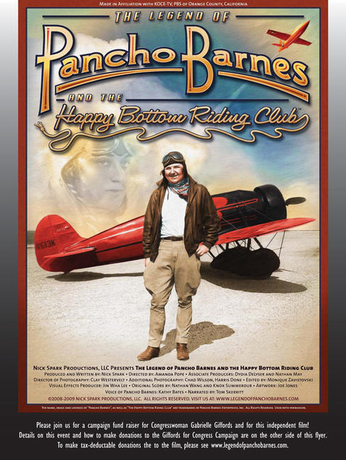 The Legend of Pancho Barnes and the Happy Bottom Riding Club Photos + Posters
