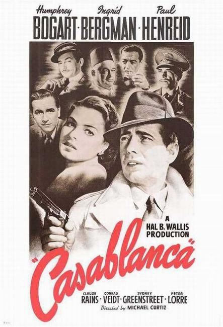 Casablanca / Double Indemnity Photos + Posters