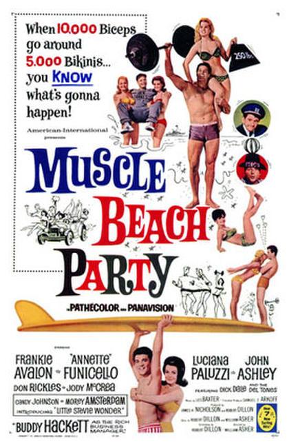 Muscle Beach Party / Beach Blanket Bingo Photos + Posters