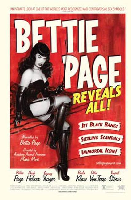 Bettie Page Reveals All Photos + Posters
