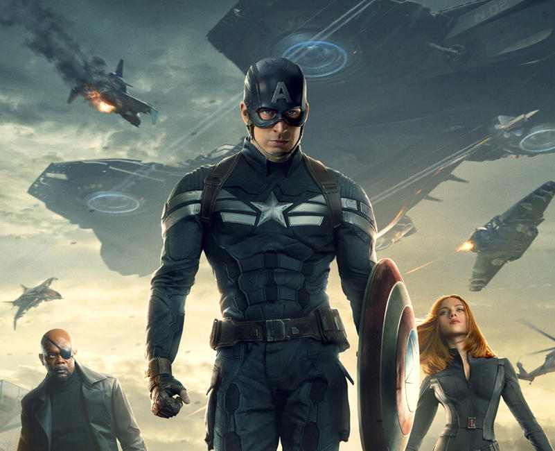 Marvel's Captain America: The Winter Soldier Photos + Posters