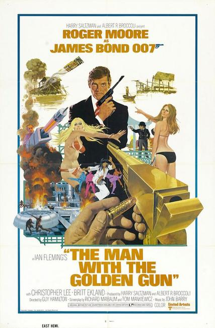 The Man With The Golden Gun / The Spy Who Loved Me / Moonraker Photos + Posters