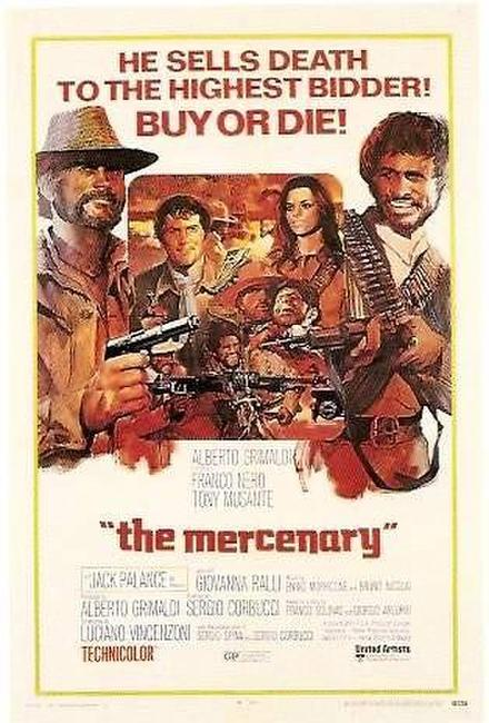 The Mercenary / Death Rides a Horse Photos + Posters