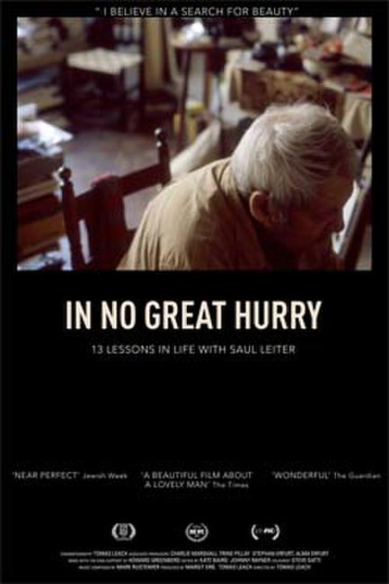 In No Great Hurry: 13 Lessons in Life with Saul Leiter Photos + Posters