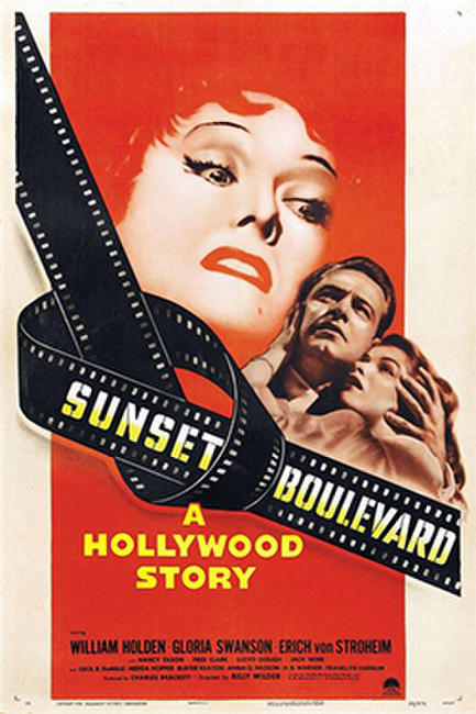 SUNSET BOULEVARD / ACE IN THE HOLE Photos + Posters