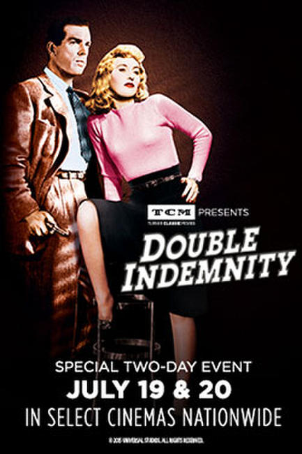 TCM presents Double Indemnity Photos + Posters