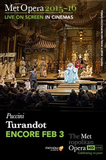 The Metropolitan Opera: Turandot ENCORE Photos + Posters