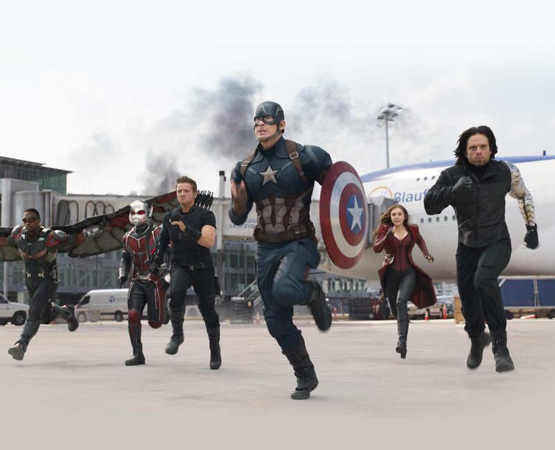 Captain America: Civil War Photos + Posters
