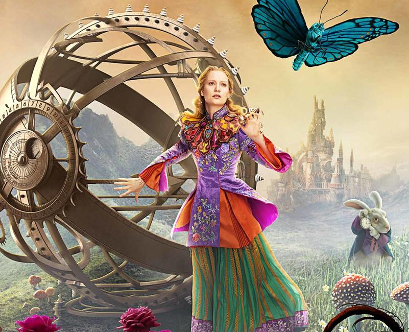 Alice Through the Looking Glass Photos + Posters