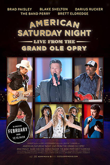 American Saturday Night LIVE From the Grand Ole Opry Photos + Posters