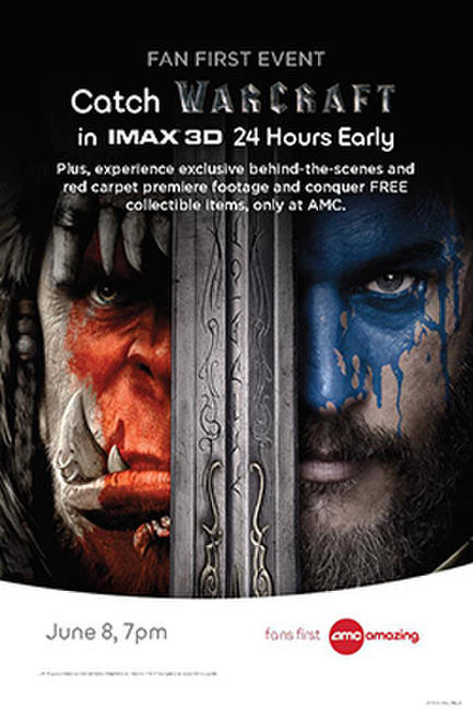 Warcraft Fan First Event Photos + Posters