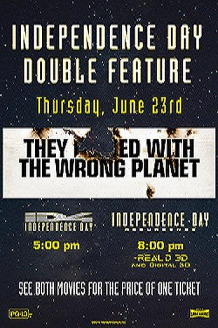 Independence Day Double Feature Photos + Posters