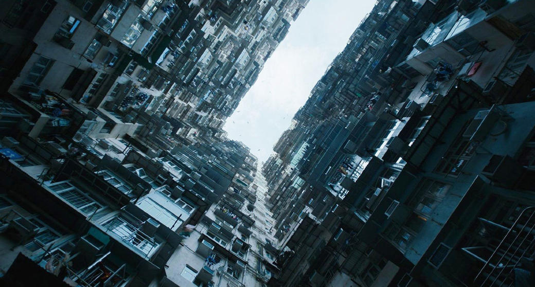 A Scene From Ghost In The Shell