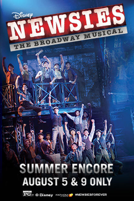 DISNEY'S NEWSIES: THE BROADWAY MUSICAL! (2017) Photos + Posters