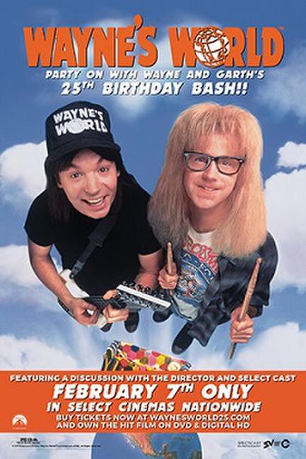 Wayne's World: 25th Anniversary Birthday Bash Photos + Posters