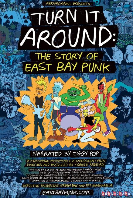 Turn It Around: The Story of East Bay Punk Photos + Posters