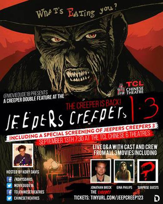 Moviedude18 presents Jeepers Creepers 1 & 3 Photos + Posters