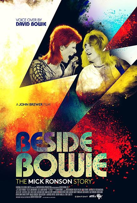 Beside Bowie: The Mick Ronson Story Photos + Posters