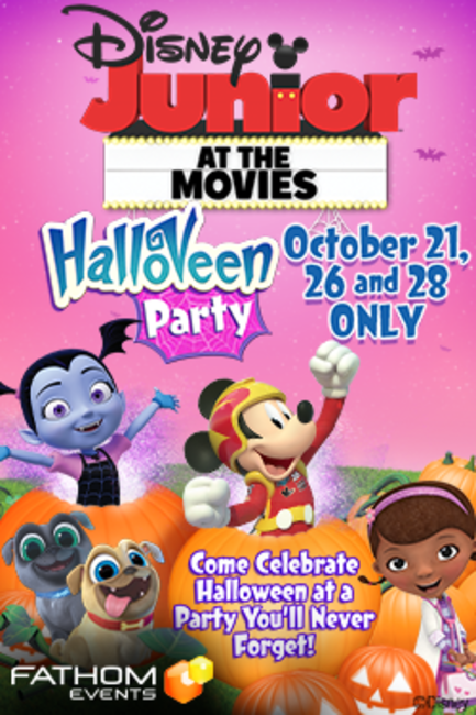 Disney Junior at the Movies – Halloween Party! Photos + Posters