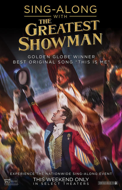 The Greatest Showman Sing-Along Photos + Posters