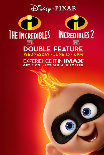 Incredibles Double Feature Photos + Posters