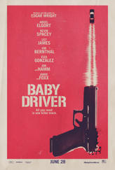 Baby Driver showtimes and tickets