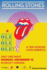 THE ROLLING STONES OLÉ OLÉ OLÉ showtimes and tickets