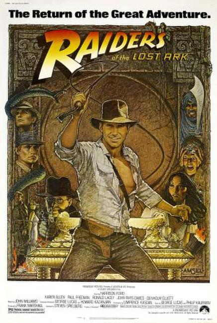 Raiders of the Lost Ark / Indiana Jones and the Temple of Doom / Indiana Jones and the Last Crusade Photos + Posters