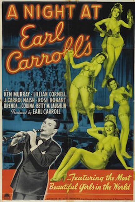 A Night at Earl Carroll's Photos + Posters