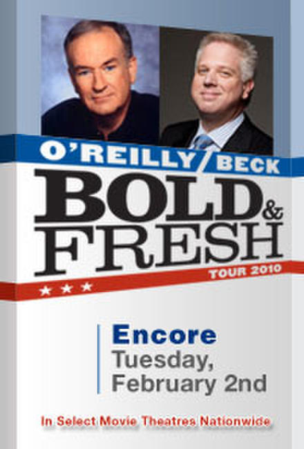 Bold and Fresh Tour: O'Reilly and Beck Encore Photos + Posters