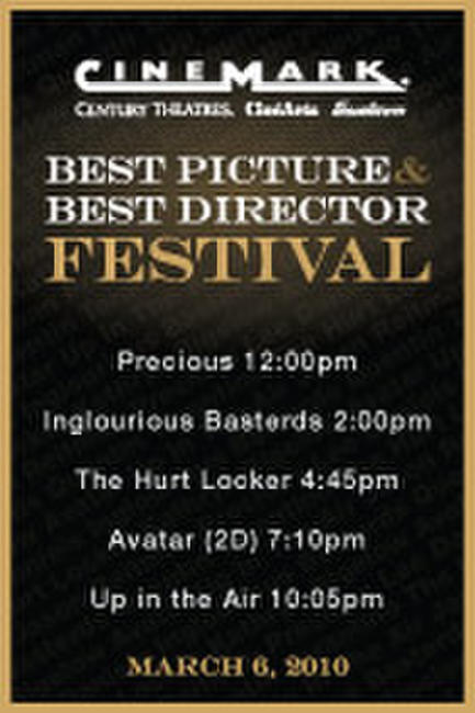 Best Picture & Best Director Festival Photos + Posters