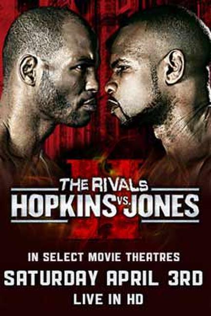 Hopkins vs. Jones Fight Live Photos + Posters
